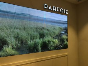 Parfois LED digital signage